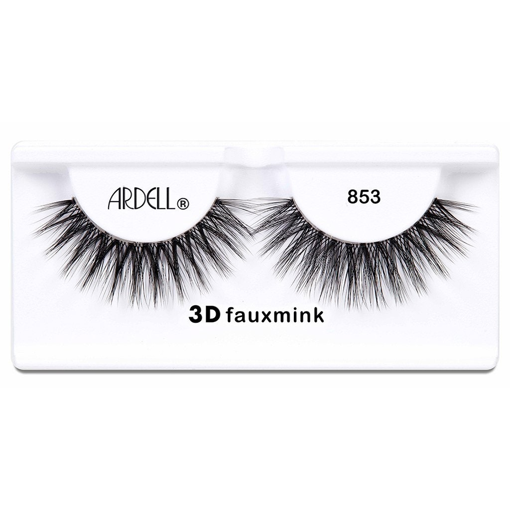 Ardell 3D Faux Mink Lash #853 on white background