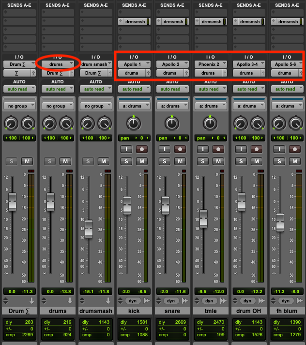 Pro Tools Signal Routing