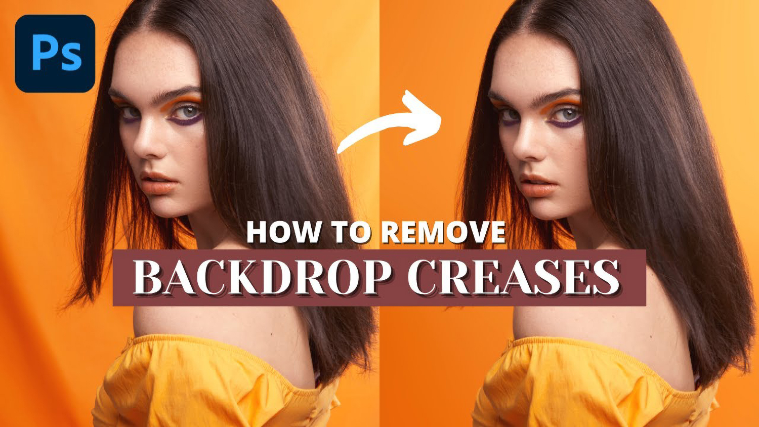 Photo for how to remove backdrop creases