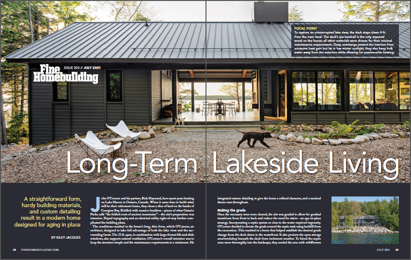 Long-Term Lakeside Living Front Cover of Article