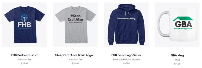 Podcast t-shirt and more cool products